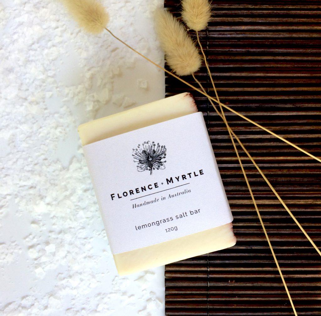 Florence + Myrtle Organic Shea Butter Salt Soap