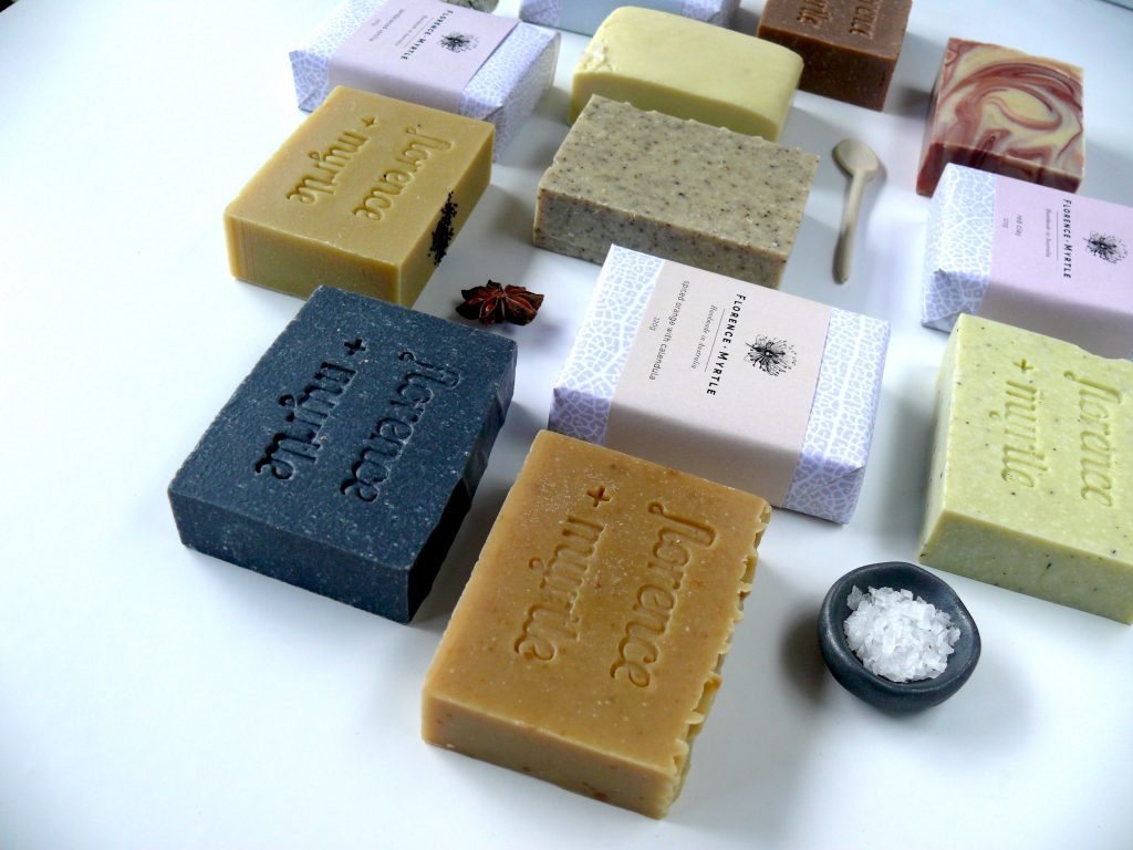 Florence + Myrtle Organic Shea Butter Soaps