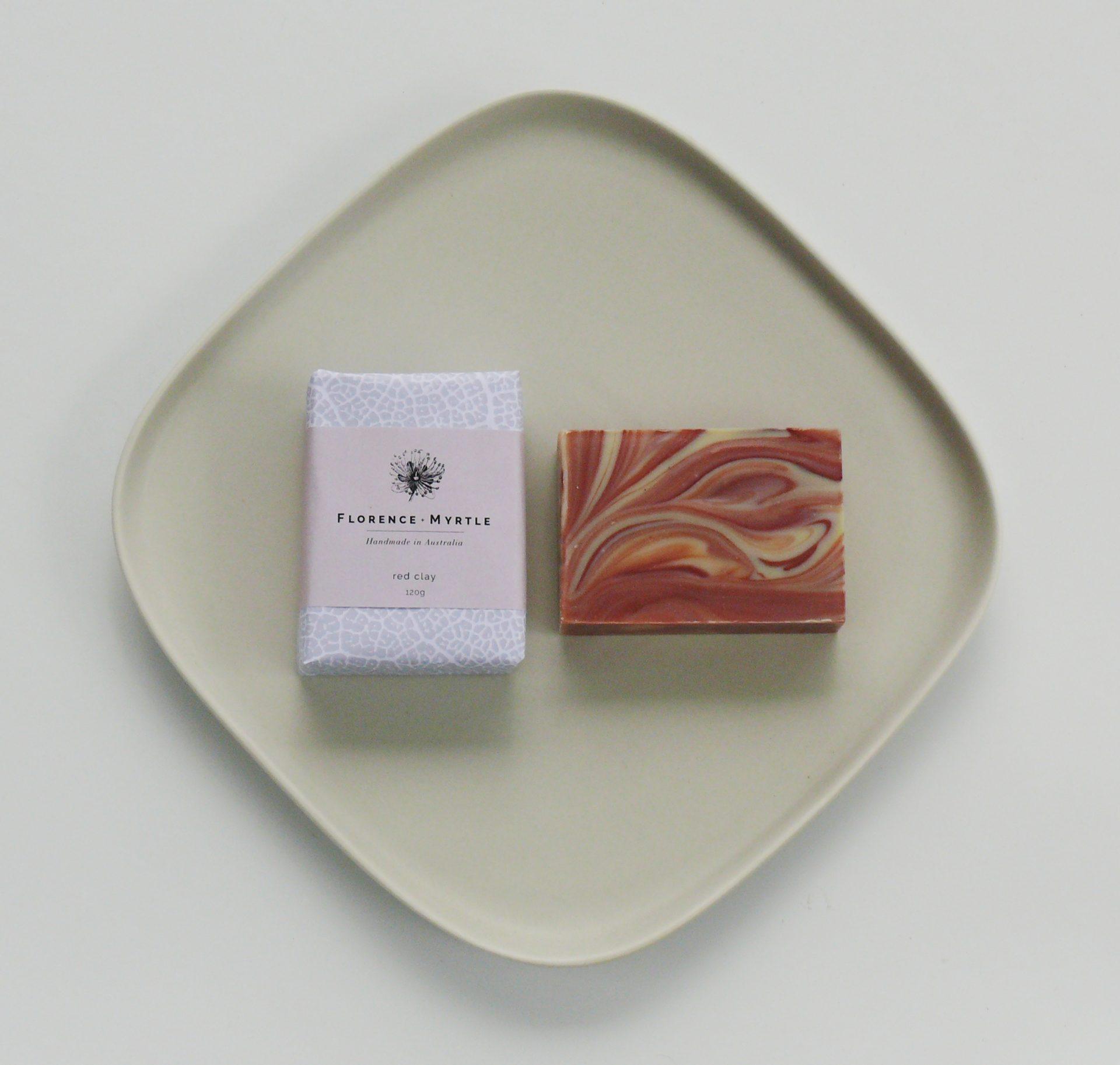 Red Clay Vegan Soap