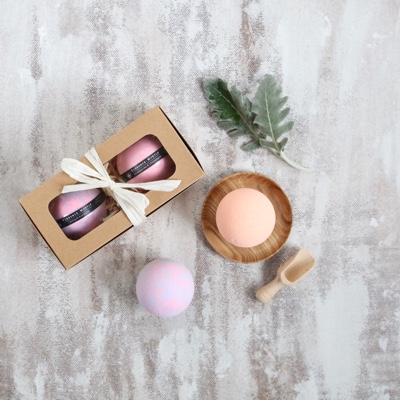 Bath Bombs Vegan Gift Pack