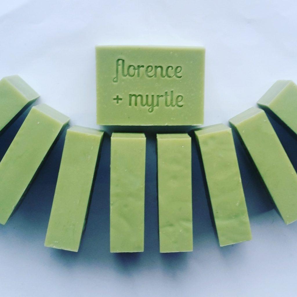 Florence + Myrtle Eucalyptus Body Bar Vegan