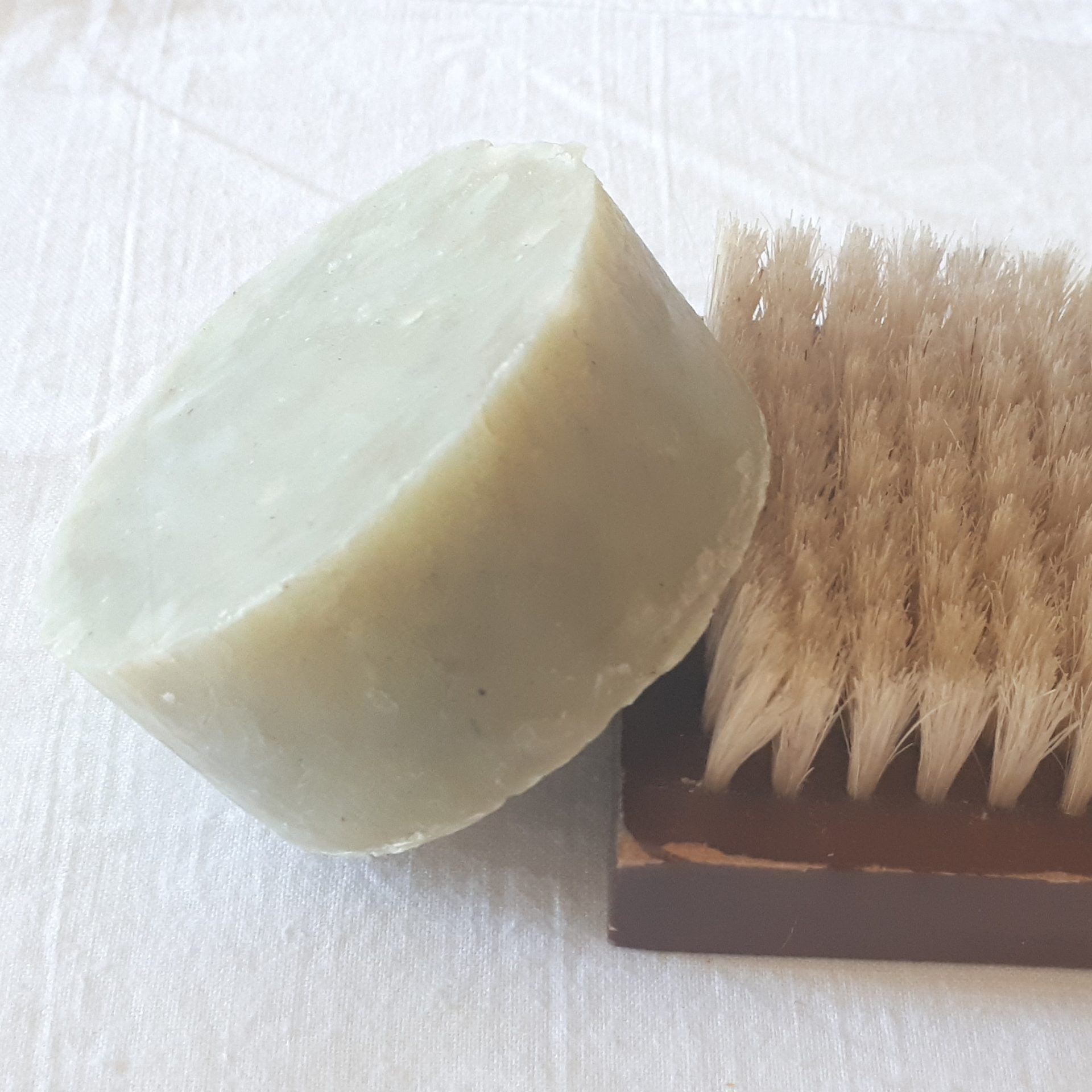 Hemp Shampoo Shaving Soap In Tin