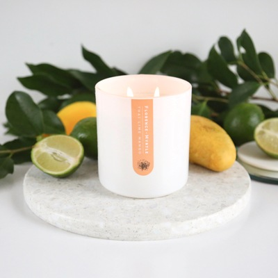 Soy Candle White Thai Lime Mango
