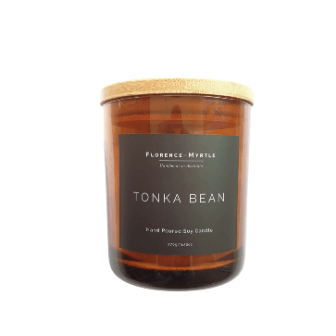 Tonka Bean Coconut Soy Candle