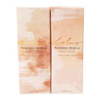 Lotus Hand Body Wash & Cream